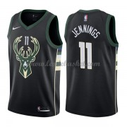 Maillot NBA Milwaukee Bucks 2018 Brandon Jennings 11# Statement Edition..