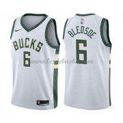 Maillot NBA Milwaukee Bucks 2018 Eric Bledsoe 6# Association Edition..