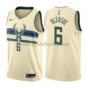 Maillot NBA Milwaukee Bucks 2018 Eric Bledsoe 6# City Edition..