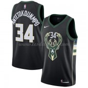 Maillot NBA Milwaukee Bucks 2018 Giannis Antetokounmpo 34# Statement Edition..