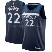 Maillot Basket Enfant Minnesota Timberwolves 2018 Andrew Wiggins 22# Icon Edition..