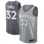 Maillot Basket Enfant Minnesota Timberwolves 2018 Karl Anthony Towns 32# City Edition..
