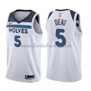 Maillot Basket Enfant Minnesota Timberwolves 2018 Karl Gorgui Dieng 5# Association Edition..
