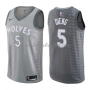 Maillot Basket Enfant Minnesota Timberwolves 2018 Karl Gorgui Dieng 5# City Edition..