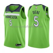 Maillot Basket Enfant Minnesota Timberwolves 2018 Karl Gorgui Dieng 5# Statement Edition..
