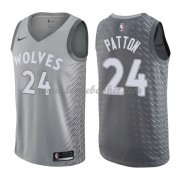 Maillot Basket Enfant Minnesota Timberwolves 2018 Karl Justin Patton 24# City Edition..