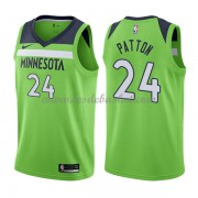 Maillot Basket Enfant Minnesota Timberwolves 2018 Karl Justin Patton 24# Statement Edition..