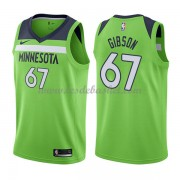 Maillot Basket Enfant Minnesota Timberwolves 2018 Taj Gibson 67# Statement Edition..