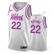 Maillot De Basket Enfant Minnesota Timberwolves 2019-20 Andrew Wiggins 22# Blanc Earned Edition Swin..