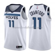 Maillot NBA Minnesota Timberwolves 2018 Jamal Crawford 11# Association Edition..