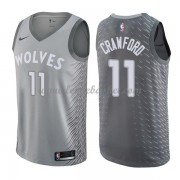 Maillot NBA Minnesota Timberwolves 2018 Jamal Crawford 11# City Edition..