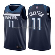 Maillot NBA Minnesota Timberwolves 2018 Jamal Crawford 11# Icon Edition..