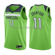 Maillot NBA Minnesota Timberwolves 2018 Jamal Crawford 11# Statement Edition..