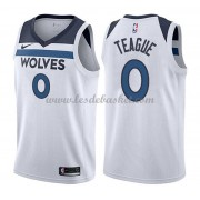 Maillot NBA Minnesota Timberwolves 2018 Jeff Teague 0# Association Edition..