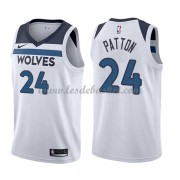 Maillot NBA Minnesota Timberwolves 2018 Karl Justin Patton 24# Association Edition..