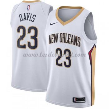 Maillot Basket Enfant New Orleans Pelicans 2018 Anthony Davis 23# Association Edition