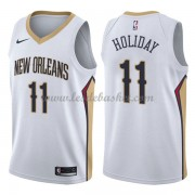 Maillot Basket Enfant New Orleans Pelicans 2018 Jrue Holiday 11# Association Edition..
