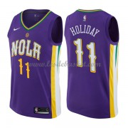 Maillot Basket Enfant New Orleans Pelicans 2018 Jrue Holiday 11# City Edition..