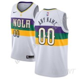 Maillot De Basket Enfant New Orleans Pelicans 2019-20 Blanc City Edition Swingman