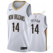 Maillot De Basket Enfant New Orleans Pelicans 2019-20 Brandon Ingram 14# Blanc Association Edition S..