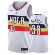 Maillot De Basket Enfant New Orleans Pelicans 2019-20 Julius Randle 30# Blanc Earned Edition Swingma..