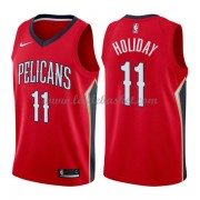 Maillot NBA New Orleans Pelicans 2018 Jrue Holiday 11# Statement Edition..