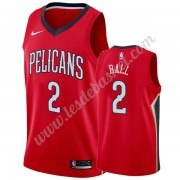 Maillot NBA New Orleans Pelicans 2019-20 Lonzo Ball 2# Rouge Statement Edition Swingman..