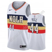 Maillot NBA New Orleans Pelicans 2019-20 Solomon Hill 44# Blanc Earned Edition Swingman..