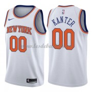 Maillot Basket Enfant New York Knicks 2018 Enes Kanter 0# Association Edition..