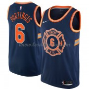Maillot Basket Enfant New York Knicks 2018 Kristaps Porzingis 6# City Edition..