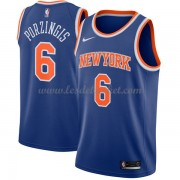 Maillot NBA New York Knicks 2018 Kristaps Porzingis 6# Icon Edition..