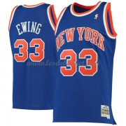 Maillot NBA New York Knicks 1991-92 Patrick Ewing 33# Blue Hardwood Classics..