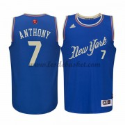 Maillot Basket NBA New York Knicks Homme 2015 Carmelo Anthony 7# Maillot Noël..