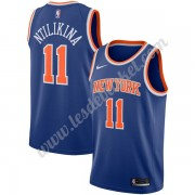 Maillot NBA New York Knicks 2019-20 Frank Ntilikina 11# Bleu Icon Edition Swingman..