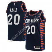Maillot NBA New York Knicks 2019-20 Kevin Knox 20# Bleu Marine City Edition Swingman..