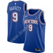 Maillot NBA New York Knicks 2019-20 RJ Barrett 9# Bleu Statement Edition Swingman..