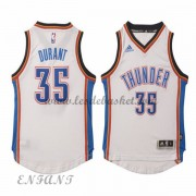 Maillot Basket NBA Oklahoma City Thunder Enfant 2015-16 Kevin Durant 35# Home..