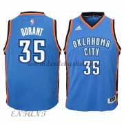 Maillot Basket NBA Oklahoma City Thunder Enfant 2015-16 Kevin Durant 35# Road..