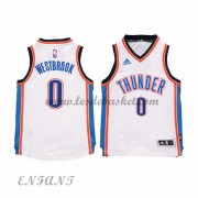 Maillot Basket Enfant Oklahoma City Thunder 2015-16 Russell Westbrook 0# Home..