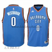 Maillot Basket Enfant Oklahoma City Thunder 2015-16 Russell Westbrook 0# Road..