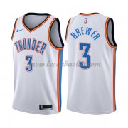 Maillot Basket Enfant Oklahoma City Thunder 2018 Corey Brewer 3# Association Edition..