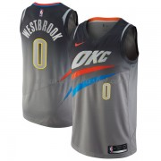 Maillot Basket Enfant Oklahoma City Thunder 2018 Russell Westbrook 0# City Edition..
