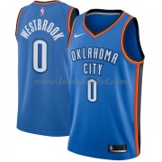 Maillot Basket Enfant Oklahoma City Thunder 2018 Russell Westbrook 0# Icon Edition..