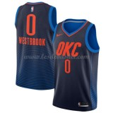 Maillot Basket Enfant Oklahoma City Thunder 2018 Russell Westbrook 0# Statement Edition