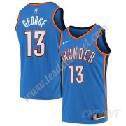 Maillot De Basket Enfant Oklahoma City Thunder 2019-20 Paul George 13# Bleu Icon Edition Swingman..