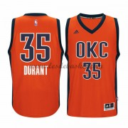 Maillot Basket NBA Oklahoma City Thunder 2015-16 Kevin Durant 35# Orange Alternate..