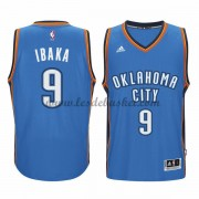 Maillot NBA Oklahoma City Thunder 2015-16 Serge Ibaka 9# Road..