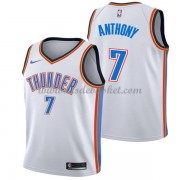 Maillot NBA Oklahoma City Thunder 2018 Carmelo Anthony 7# Association Edition..