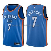 Maillot NBA Oklahoma City Thunder 2018 Carmelo Anthony 7# Icon Edition..