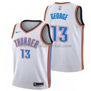 Maillot NBA Oklahoma City Thunder 2018 Paul George 13# Association Edition..
